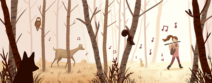 Music of the Woods By Amy Titus
