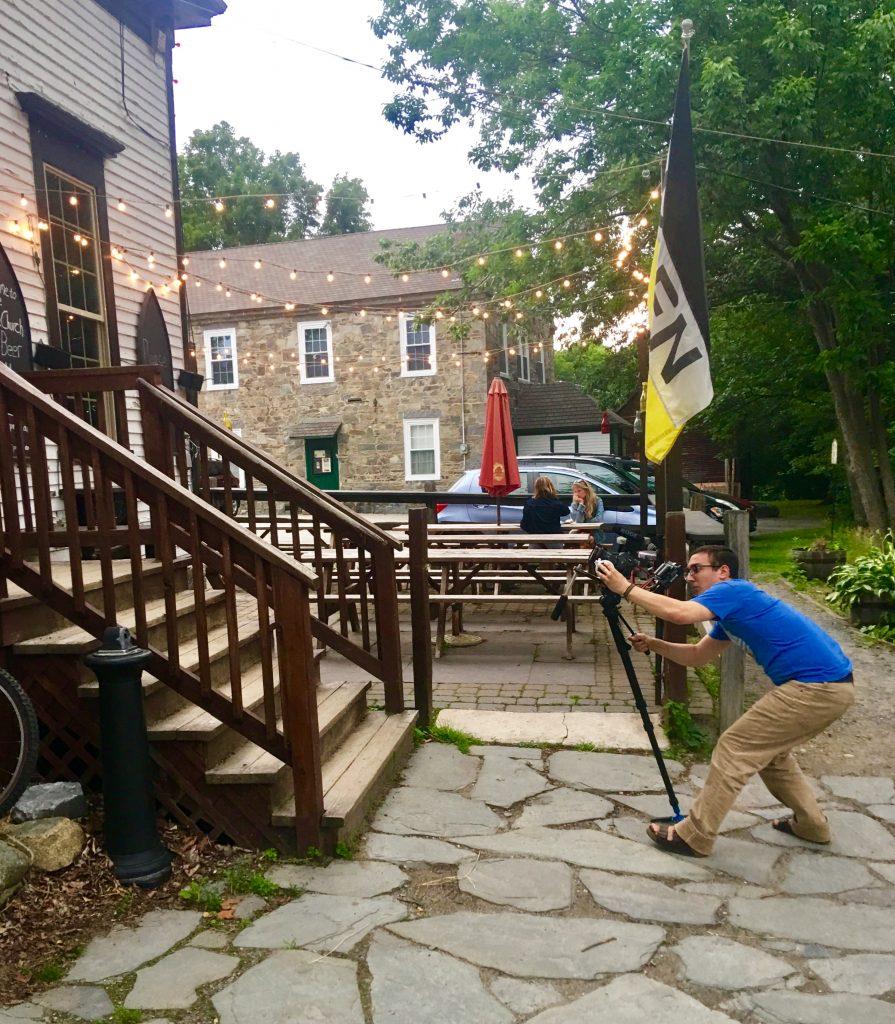 Filming:  A Fiddler's Tale
